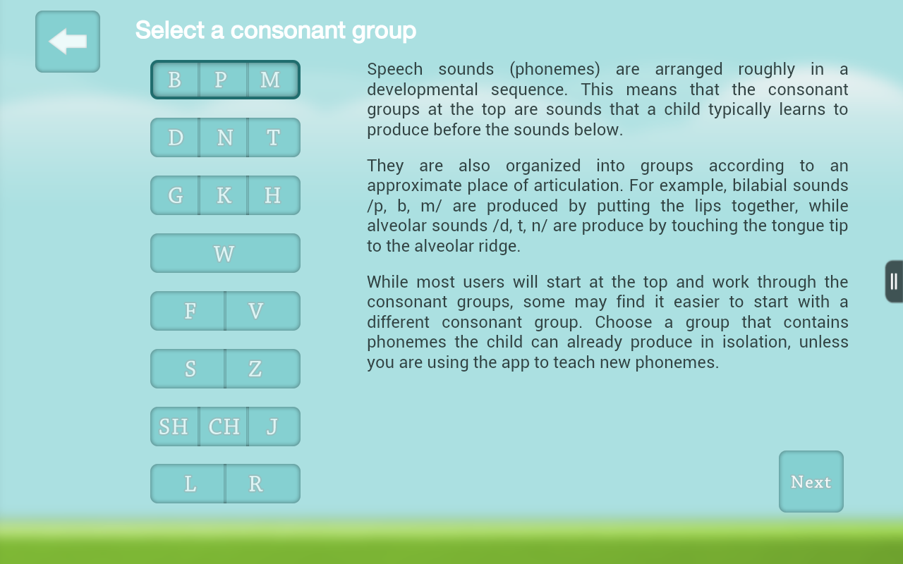 Speech Therapy for Apraxia- screenshot