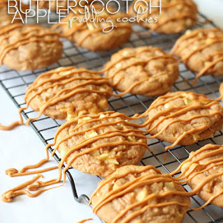 Butterscotch Apple Pudding Cookies