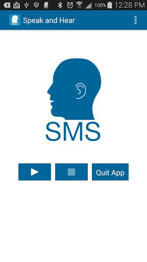 Speak and Hear SMS II