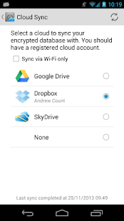 Safe In Cloud Password Manager - screenshot thumbnail