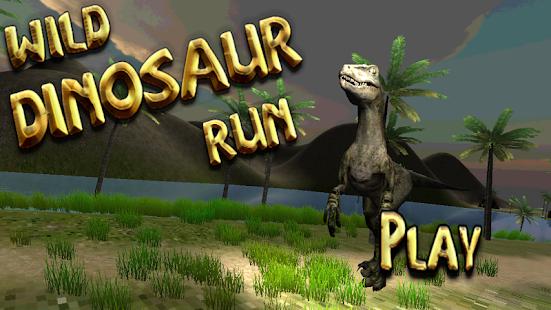 Wild Dinosaur Run