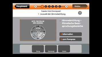 Screenshot of CAPAROL Chronograph