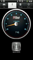 Screenshot of RPM Tachometer+Shiftlight PRO