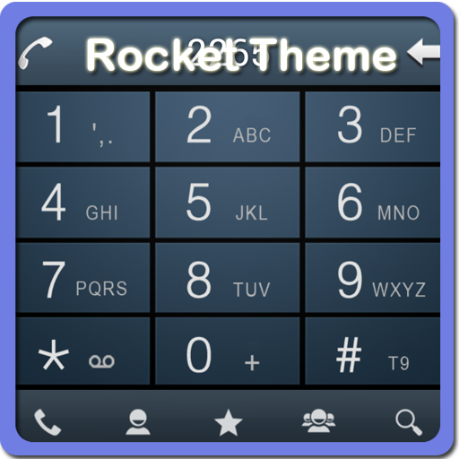 RocketDial Galaxy S4 Theme HD LOGO-APP點子