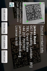 ixMAT Barcode Scanner screenshot 1
