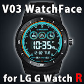 V03 WatchFace for LG G Watch R