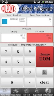 DuPont P/T Calc - screenshot thumbnail
