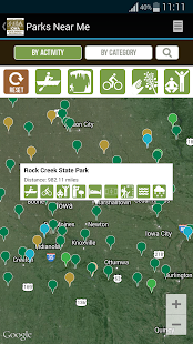IA State Parks Guide- screenshot thumbnail