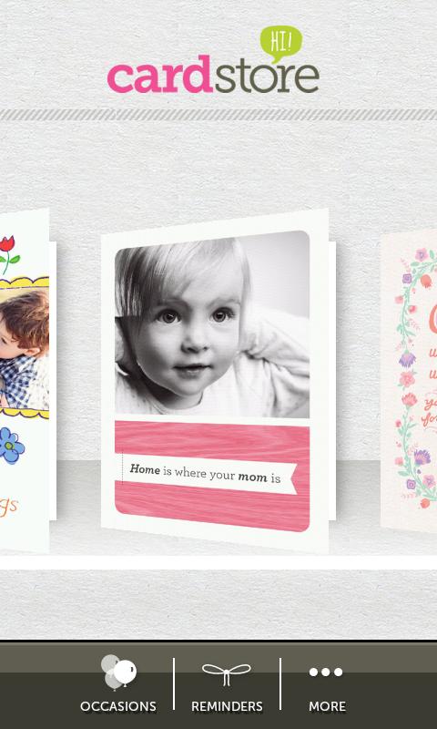 Cardstore Greeting Cards - screenshot