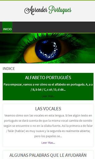 Aprende Portugués Rápido