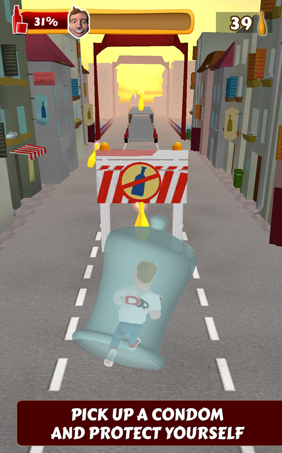 Drunk Runner - screenshot