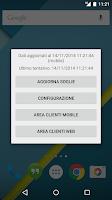 Screenshot of Widget 3 Italia