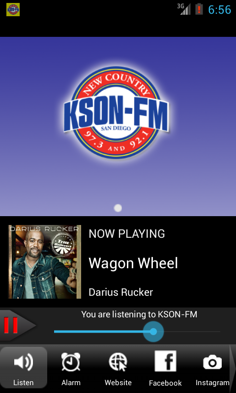 KSON-FM San Diego Country - screenshot