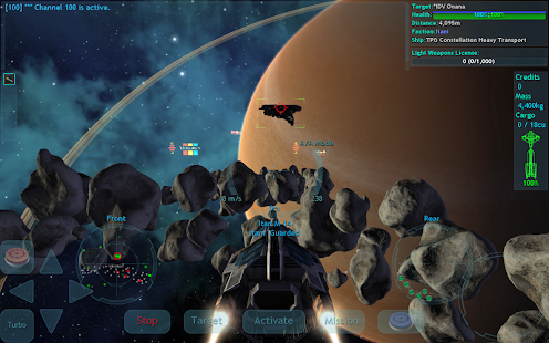 Vendetta Online (3D Space MMO) Screenshot 3