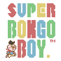 Retro boy game color cacao icon