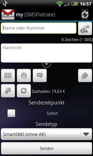 SMSoIP SMSFlatrate Plugin
