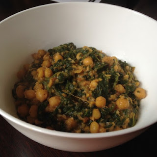 Spanish Chickpeas and Spinach Recipe