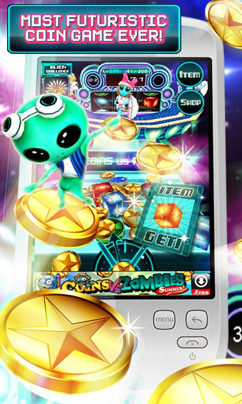 Coins Vs Aliens - screenshot