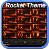 RocketDial Diablo3 Alike Theme