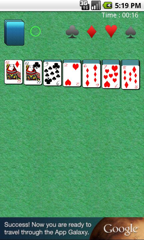 Card Solitaire - screenshot