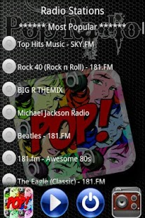 Free Pop Radio - screenshot thumbnail
