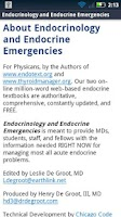Screenshot of Endocrinology & Endo Emergency
