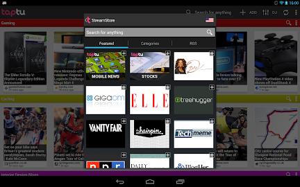 Taptu - DJ your News Screenshot 3
