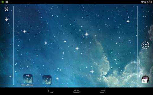 Galaxy 星雲 Parallax 動態桌布|玩個人化App免費|玩APPs