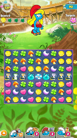 Smurfette's Magic Match 1.3.0 screenshot 58643