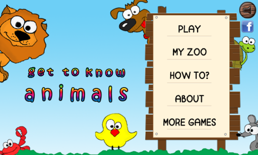 Get to know animals kids free