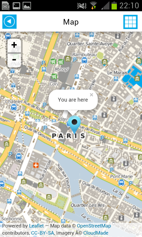 Paris offline map guide hotels android apps on google play for Paris hotel map