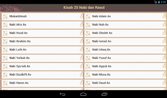 Screenshot of Kisah 25 Nabi & Rasul