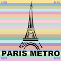 Paris Metro Route Planner icon