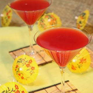 Blood Orange Martini.