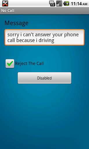 No Call
