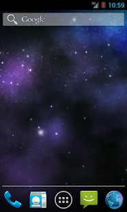 Galaxy 3D Wallpaper - screenshot thumbnail
