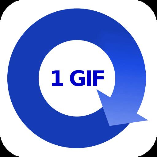 1Gif 媒體與影片 App LOGO-硬是要APP