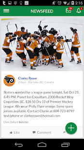 Hockey Community- screenshot thumbnail