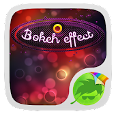 Bokeh Effect Keyboard