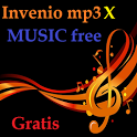 Listen music for free in mp3 icon