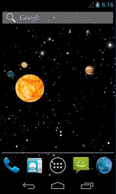 Sun system - screenshot