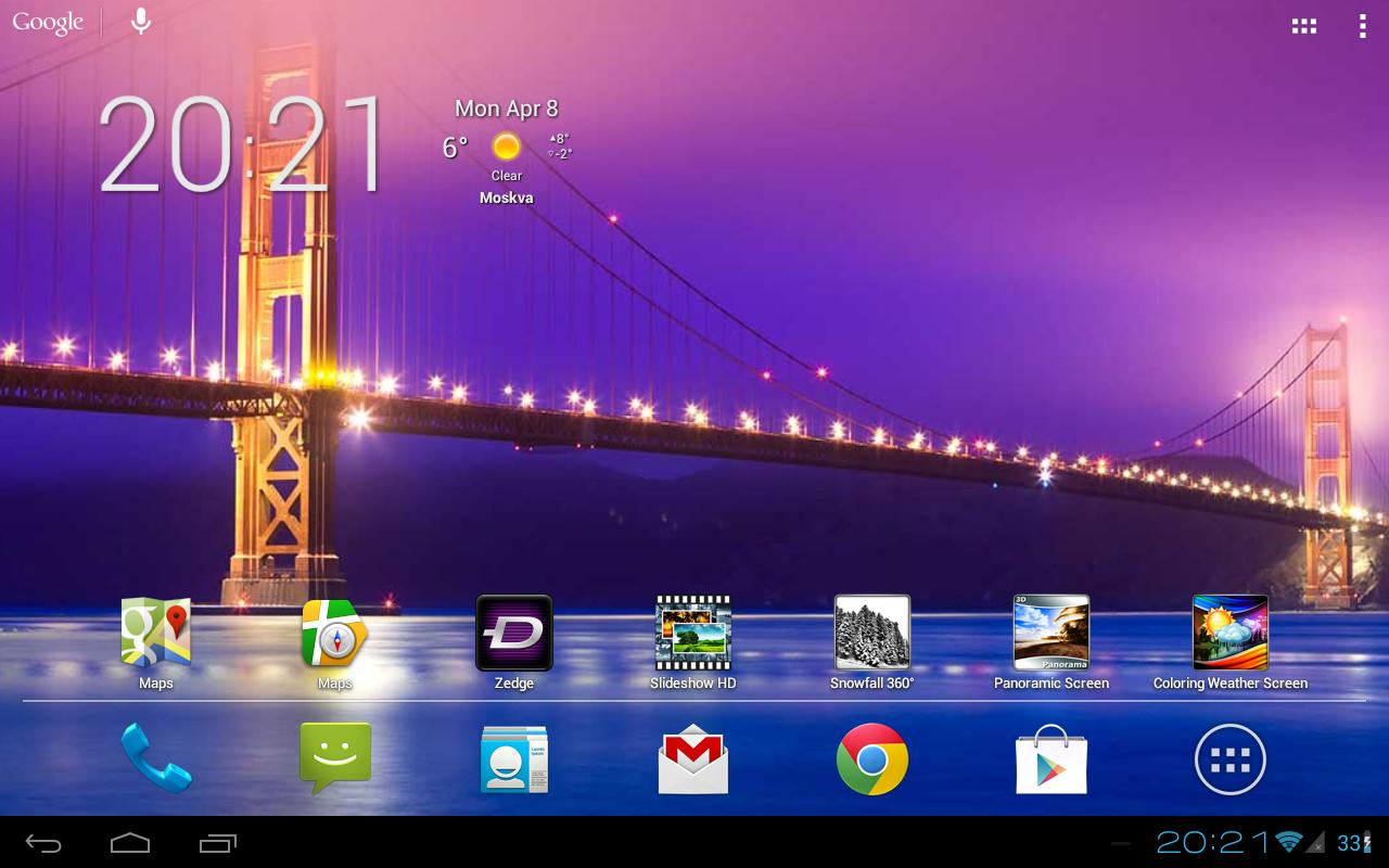 Slideshow hd live wallpaper android apps on google play for Android wallpaper 5 home screens