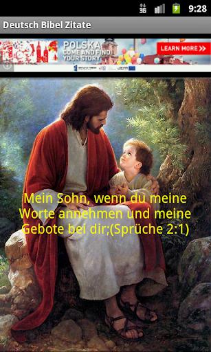 DEUTSCHE Bibelzitaten