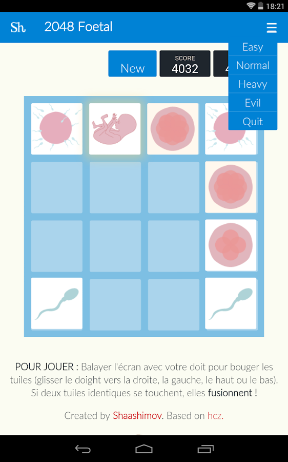 2048 Foetal Beta- screenshot