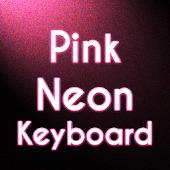 Pink Neon Keyboard Free