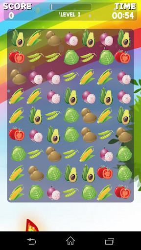 Vegetables Crush Game