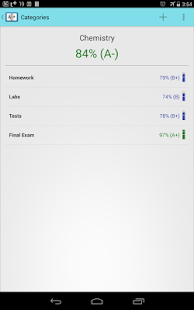 Gradebook for Students- screenshot thumbnail