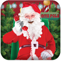 Santa Phone Call icon