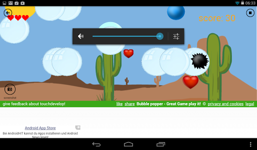Bubble Popper  screenshots 1
