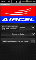 Screenshot of Balance Check- Prepaid (India)